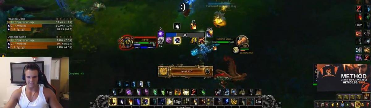 Gingi Is the World First Level 120, After only 4h 17min!